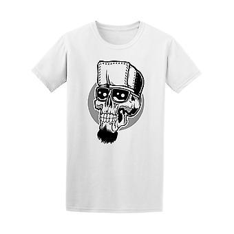 Skull Poster Hipster Tee Men's -Image by Shutterstock