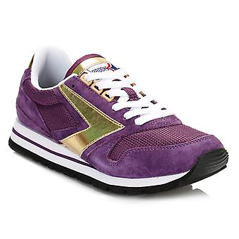 Brooks Womens Deep Purple/Gold Chariot Trainers