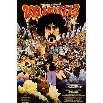 200 Motels Movie Poster (11 x 17)