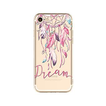 Dream-Transparent TPU shell for iPhone (8)