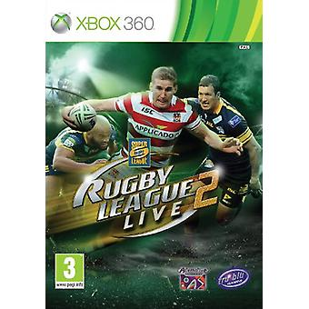 Rugby League Live 2 (X 360)