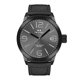 TW steel mens watch Marc Coblen Edition TWMC28 wrist watch leather band