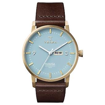Triwa Unisex Arctic Klinga Brown Leather KLST106-CL010413 Watch