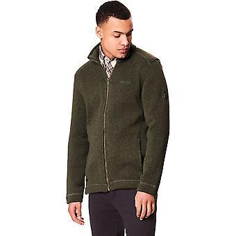 Regatta Herre Branton Strik Look Full Zip varme udendørs Fleece jakke