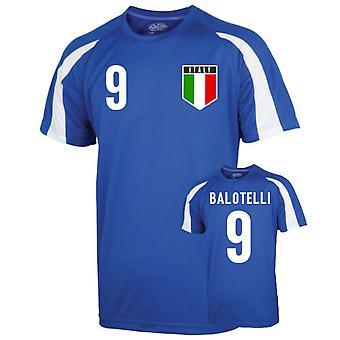 Italy Sports Training Jersey (balotelli 9) - Kids