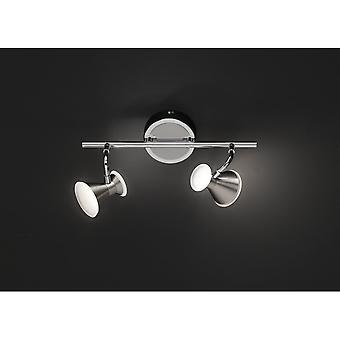 Trio belysning hertig Modern Nickel Matt metall Spot