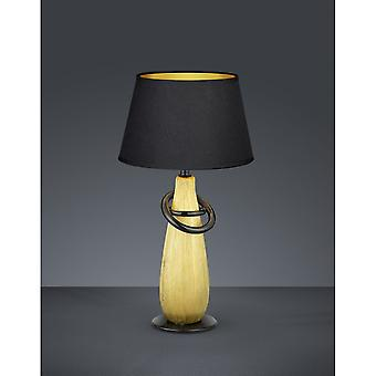 Trio Lighting Thebes Modern Gold Ceramic Table Lamp