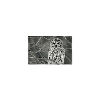 Light & Living Pillow 60X40 Cm Owl With Print Sepia