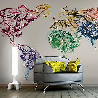Wallpaper - Dancing smoke trails