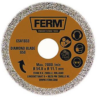 Diamond circular saw blade 54.8 x 11.1 mm Ferm G50 CSA1033 1 pc(s)