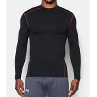Under Armour Herren Kompressions-Mock-skjorte UA ColdGear® Armour farge: sort/pink