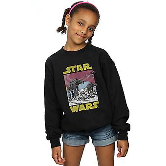 Star Wars jenter siste Jedi AT-AT Sweatshirt