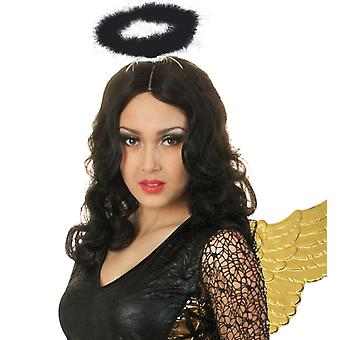 Halo of noble black evil Angel accessory