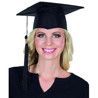 Doctoraal muts zwart kwast afstuderen uni Hat accessoire
