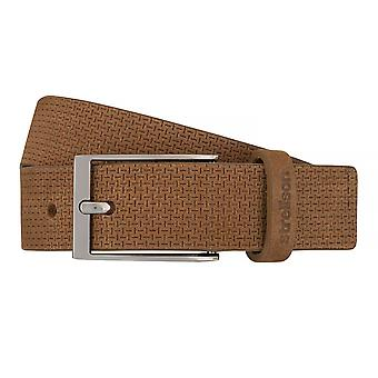 Strellson belts men's belts leather belt Cognac 7544