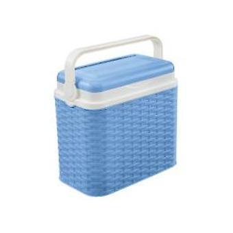 Cooler 10ltr Rattan Blue