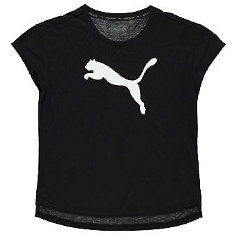 PUMA Kinder Mädchen städtische Sport Training T Shirt Junior Kurzarm Performance Tee