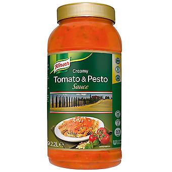 Knorr Tomaten & Pesto-Sauce