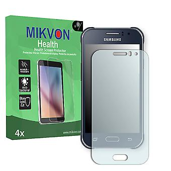 Samsung Galaxy J1 Ace Screen Protector - Mikvon Health (Retail Package with accessories)