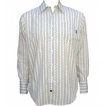 Flower Drum Long Sleeve Shirt
