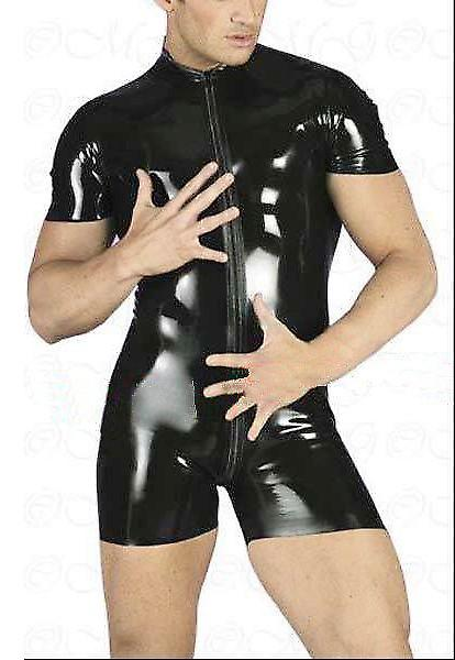 Waooh 69 - Set Latex Zip schwarz Centuro