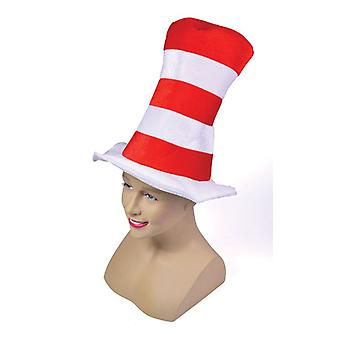Rood/wit gestreepte Top Hat. Childs