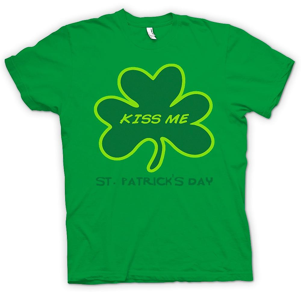 Heren T-shirt - St Patricks Day - Kiss Me