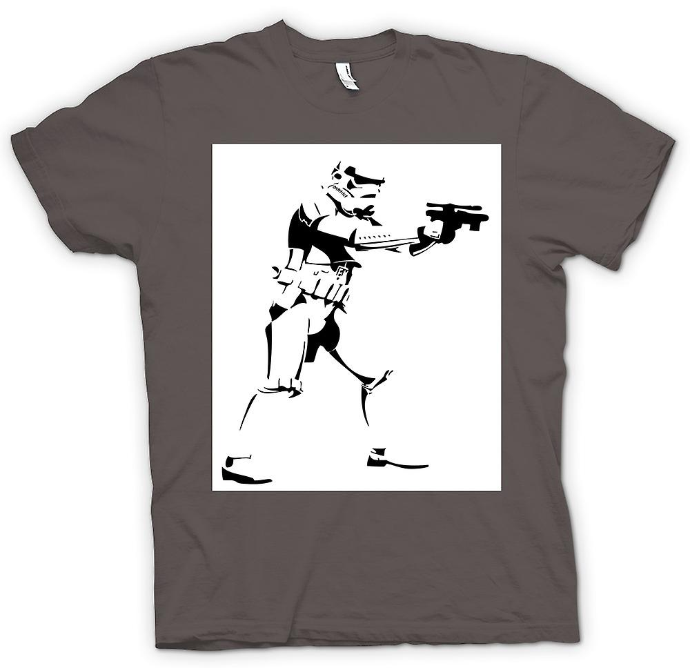 Camiseta mujer-Star Wars - Storm Trooper - Pop Art