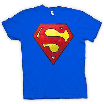 Herre T-shirt - Superman nødlidende Logo - Cool