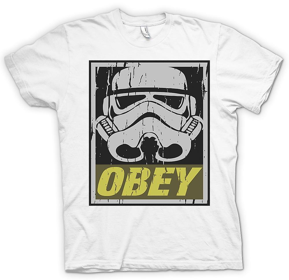 Mens T-shirt - Stormtrooper - Obey - Star Wars Inspired