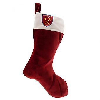 West Ham United FC superzacht Christmas Stocking
