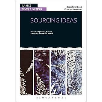 Basics Textile Design 01 - Sourcing Ideas - Researching Colour - Surfac