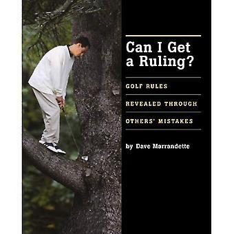 Puedo obtener una sentencia: reveladas a través de otros errores de reglas de Golf