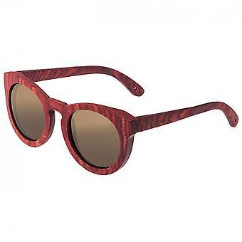 Spektrum Aikau Holz polarisierte Sonnenbrille - Cherry/braun
