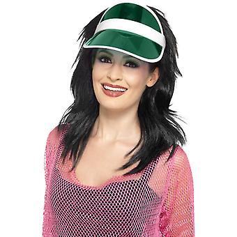 Poker visor Green Hat of Poker Poker Hat Casino Hat