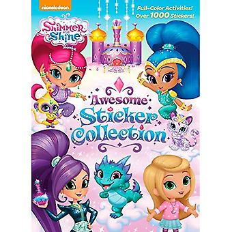 Collection de Sticker génial Shimmer and Shine (Shimmer and Shine) (couleur 4 Plus 1 000 autocollants)