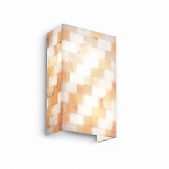 Ideal Lux - ScaCChi große Alabaster Glas Wand Licht IDL015118