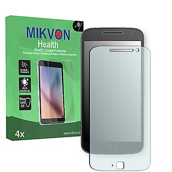 Motorola Moto G4 Plus Screen Protector - Mikvon Health (Retail Package with accessories)