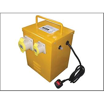 Faithfull Power Plus kachel Transformer 3KVA continu tarief