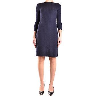 Ralph Lauren Blue Cashmere Dress