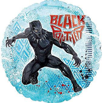 Anagram Marvel Black Panther Round Foil Balloon