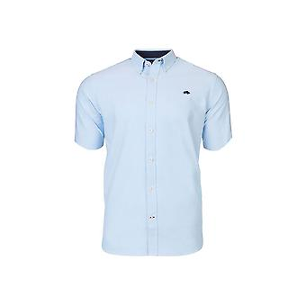 Short Sleeve Signature Poplin Shirt - Sky Blue