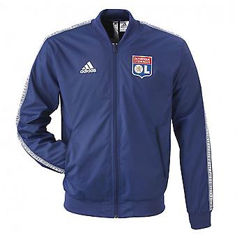 2019-2020 Lyon Adidas Anthem Jacket (Navy)