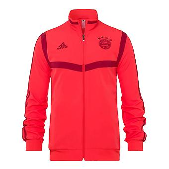 2019-2020 Bayern Munich Adidas Presentation Jacket (Red)