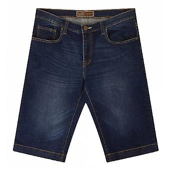 Ed Baxter strekk denim shorts