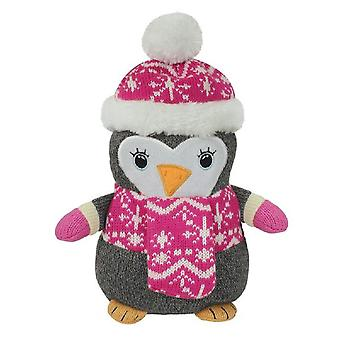 Aroma Home Knitted Cosy Friend Heatable Hottie: Penguin