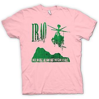メンズ t シャツ - イラク - 私たちは私が去ったとき勝っていた
