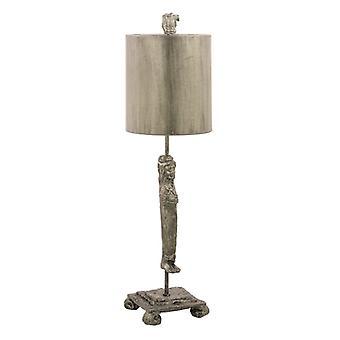 KARYATID Silver tabell lampa