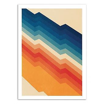 Konst-affisch-barrikad-Tracie Andrews 50 x 70 cm