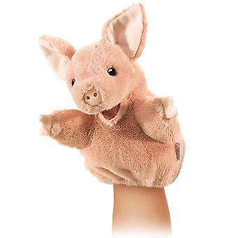 Hand Puppet - Folkmanis - Little Pig New Animals Soft Doll Plush Toys 2967